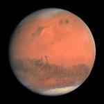 Rosettaが撮影した火星の全景